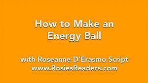 How to Make an Energy Ball
