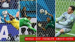 All Penalty Shoot-Outs Details From World Cup 2014
