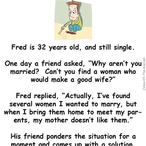fred   wife funny jokes jokes   day