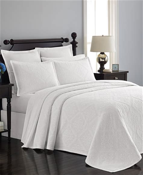 Macys Coverlets by Martha Stewart Collection Castle Matelass 233 Bedspreads And
