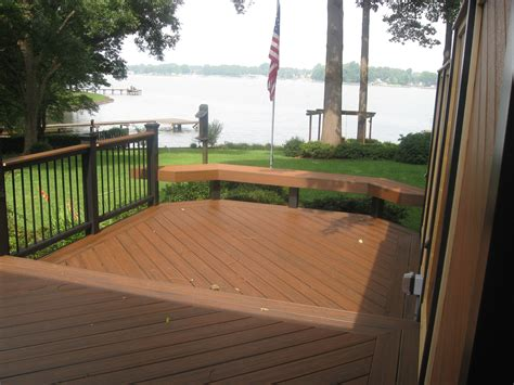 researching composite decking in the carolina market trex