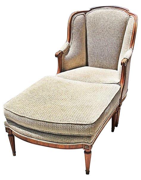 carcasse chaise louis xvi louis xvi style duchesse brisee chaise ottoman a pair