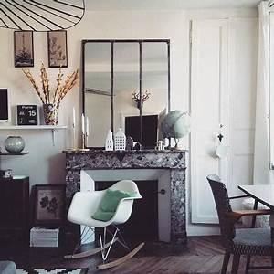 Miroir Effet Verrière : miroir verri re factory window mirror ~ Teatrodelosmanantiales.com Idées de Décoration
