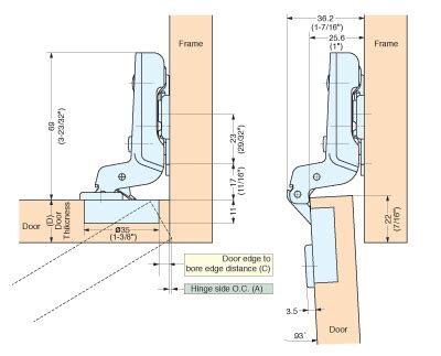 installing inset cabinet door hinges hinges for recessed cabinet doors mf cabinets