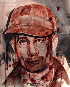 Ed Gein Painting by Ryan Almighty