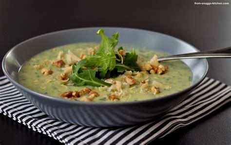 Es muss ja nicht immer Salat sein - Rucola-Kartoffel-Suppe ...