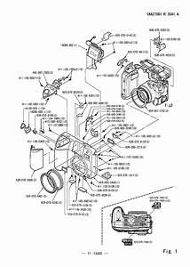 Nikon D200 Parts Diagram
