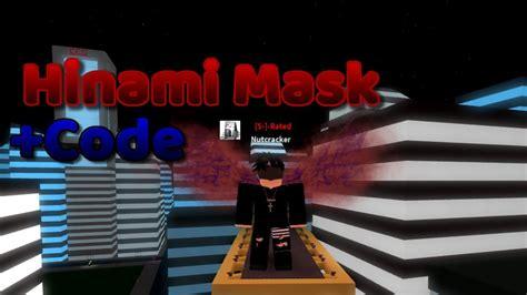 ro ghoul hinami mask showcase  codes roblox