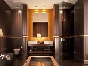 Exemple Salle De Bain : mod le d coration salle de bain orange ~ Dailycaller-alerts.com Idées de Décoration