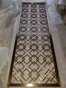 Grille Metal Decorative : 25 best ideas about metal screen on pinterest metal lattice screens and laser cut patterns ~ Melissatoandfro.com Idées de Décoration