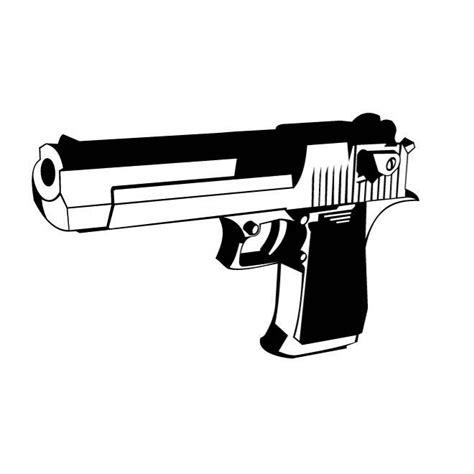 Pistol Clipart Handgun Clip Free Vectors Ui