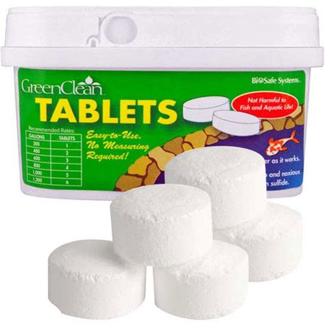 greenclean tablets  lb container mpn