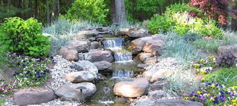 water landscaping ideas low maintenance house plans house plans