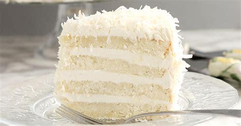 snow white coconut layer cake baking sense
