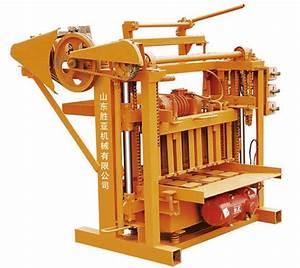 China Small Manual Cement Brick Making Machine  Hollow