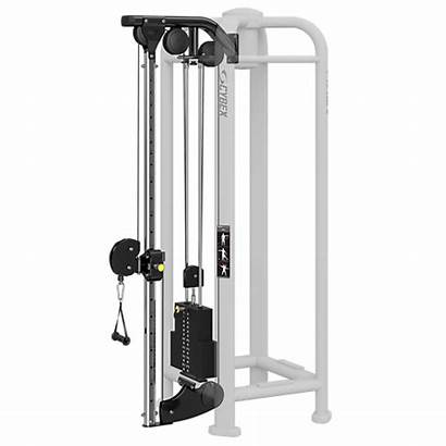 Cable Adjustable Cybex Column Play Power Pwr