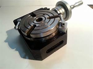 Amadeal High Precision Hv 4 U0026quot  Rotary Table