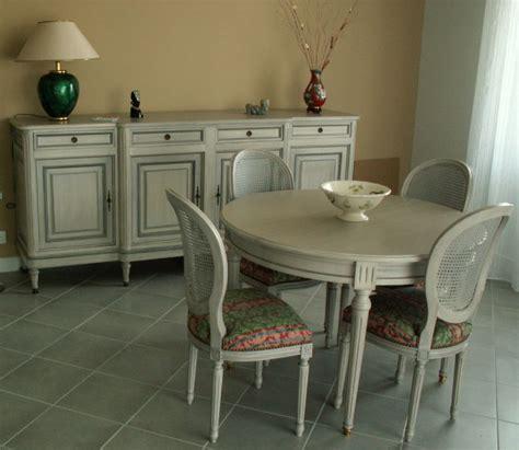 buffet bas cuisine mobilier merisier style louis xvi lafeuillade