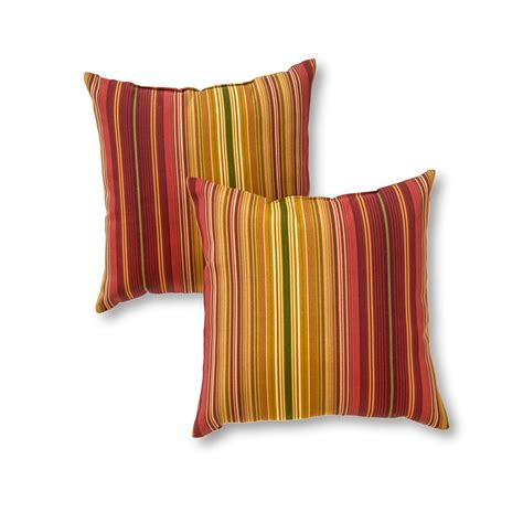 greendale home fashions 17 quot x 17 quot outdoor accent pillows