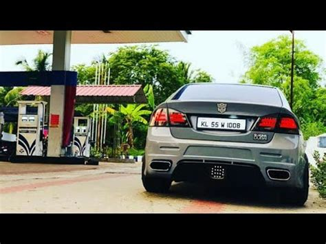 Civic Modifications India by Honda Civic Modified In India