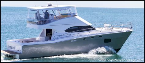 Power Catamaran Boat Names by 14m Luxury Sportfisher Power Catamaran Boat Design Net