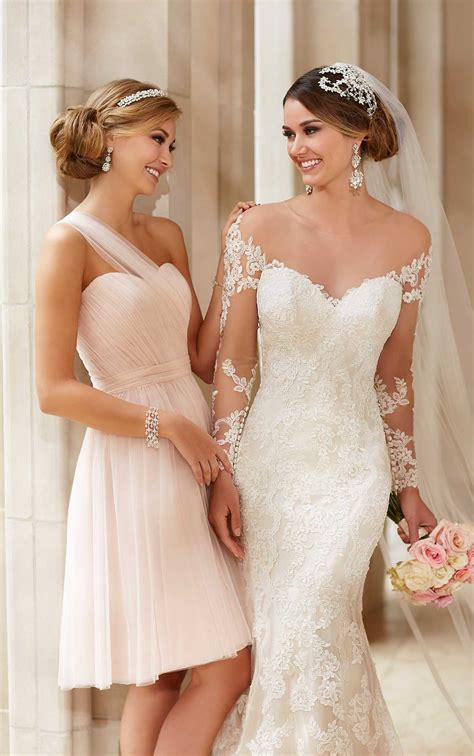 Wedding Dresses With Sleeves Wedding Gown With Lace
