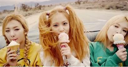 Cream Ice Cake Velvet Hairstyles Blonde Kpop