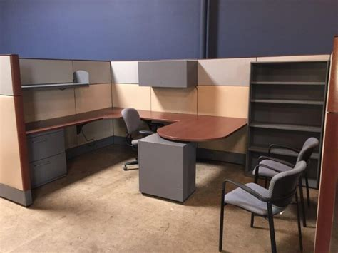 haworth premise  tall panels  cubicles