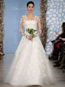 wedding dresses by oscar de la renta spring 2014 With oscar de la renta wedding gown