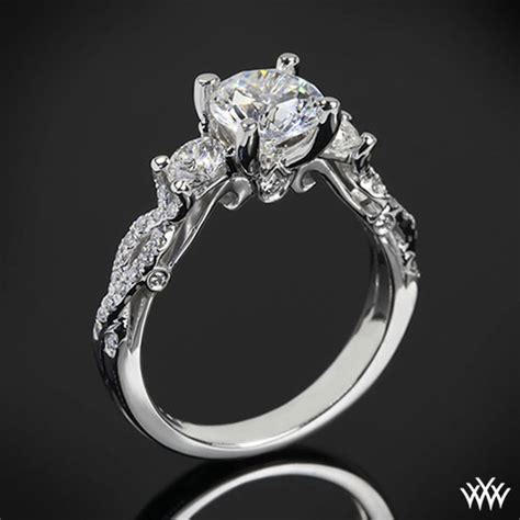 designer wedding rings buy your ideal engagement ring with whiteflash