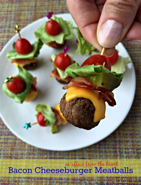 bacon cheeseburger meatballs recipe bacon food and babies