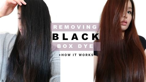 Removing Permanent Box Dye In Hair & Why It Worked| Easy