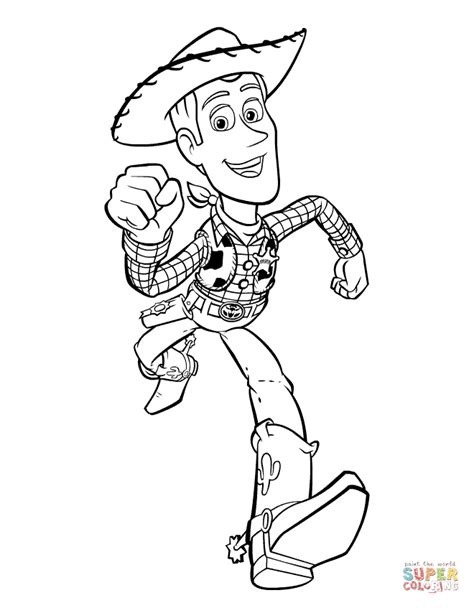 toy story woody outline   hq  puzzle games