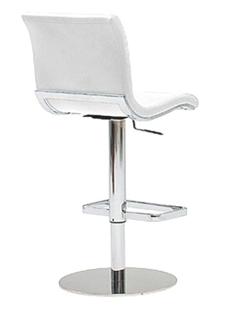 tabouret de bar design blanc