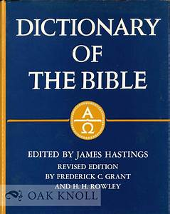 W R F Browning    Dictionary Of The Bible