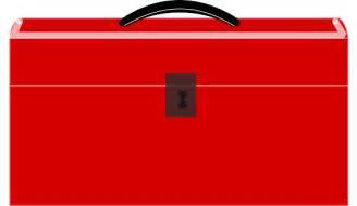 Red Tool Box Clip Art
