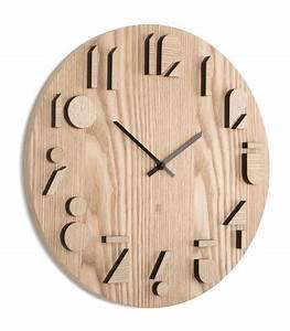 Horloge Murale Bois : horloge design murale en bois shadows umbra ~ Teatrodelosmanantiales.com Idées de Décoration