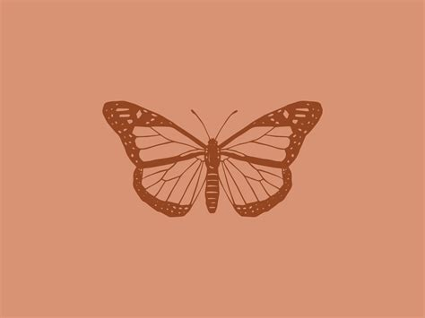 brown aesthetic butterfly wallpapers