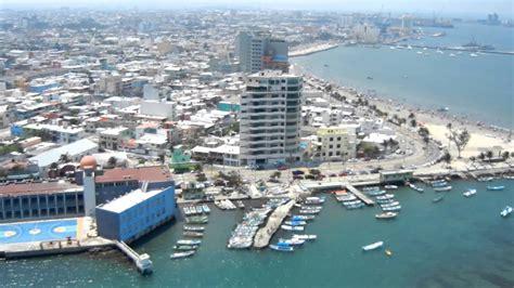 Vista panorámica de Veracruz en Helicóptero grabado por ...