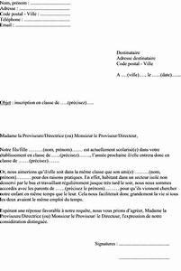 Modèle Changement D Adresse : modele lettre changement de classe lycee ~ Gottalentnigeria.com Avis de Voitures