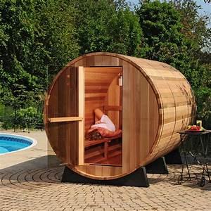 Barrel Sauna Almost Heaven Saunas