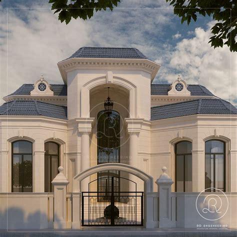 private villa qatar  rde villa qatar exterior architecture rde classic house design