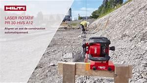 Niveau Laser Plaquiste : hilti laser rotatif pr 30 hvs a12 youtube ~ Premium-room.com Idées de Décoration
