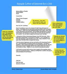 Types Of Interest Letters Relentless Cover Letters And Nice