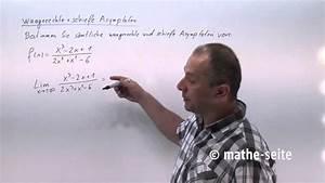 Asymptote Berechnen : waagrechte asymptote und schiefe asymptote berechnen beispiel 10 youtube ~ Themetempest.com Abrechnung