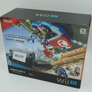 Mario Kart Wii U : nintendo wii u 32gb mario kart 8 deluxe set with bonus dlc brand new 45496881542 ebay ~ Maxctalentgroup.com Avis de Voitures