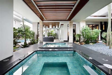 desain rumah mewah  interior garden  mempesona