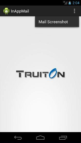 android take screenshot android take screenshot programmatically and email truiton