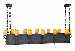 Meyda carpathian twelve light long rectangular