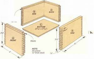 Sliding Lid Boxes - Finger Joints - Woodworking Archive